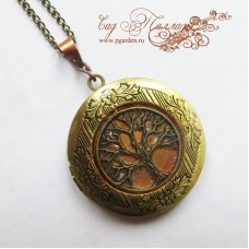 "Медальон ""Бронзовое дерево"""
