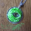 """Кулон """"Глаз зеленого дракона"""""""